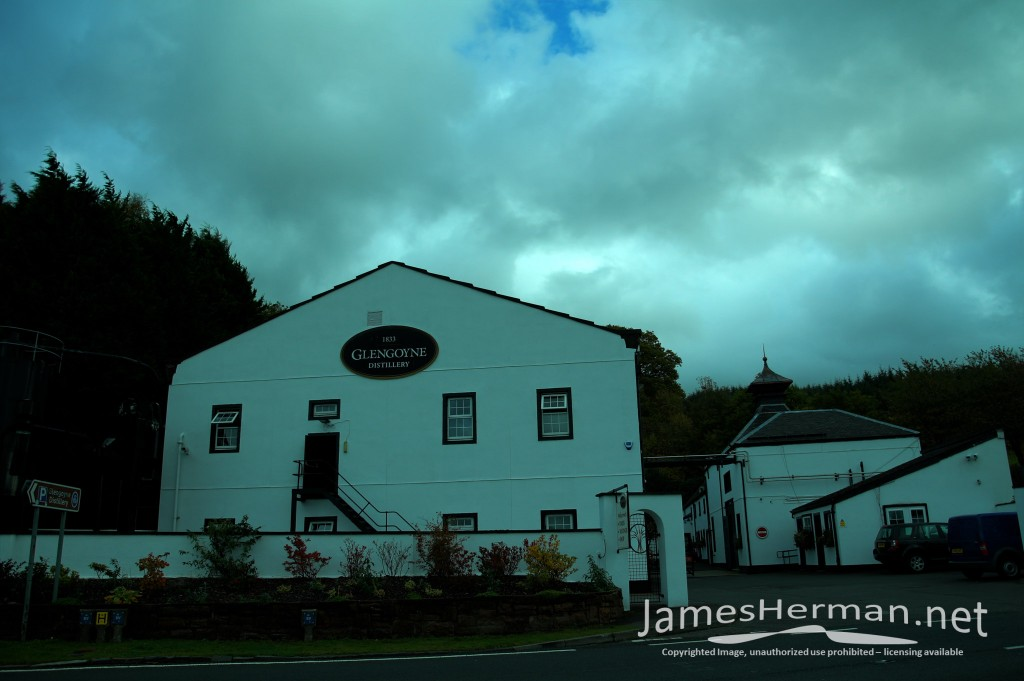 Glasgow and the Glengoyne Distillery 2014