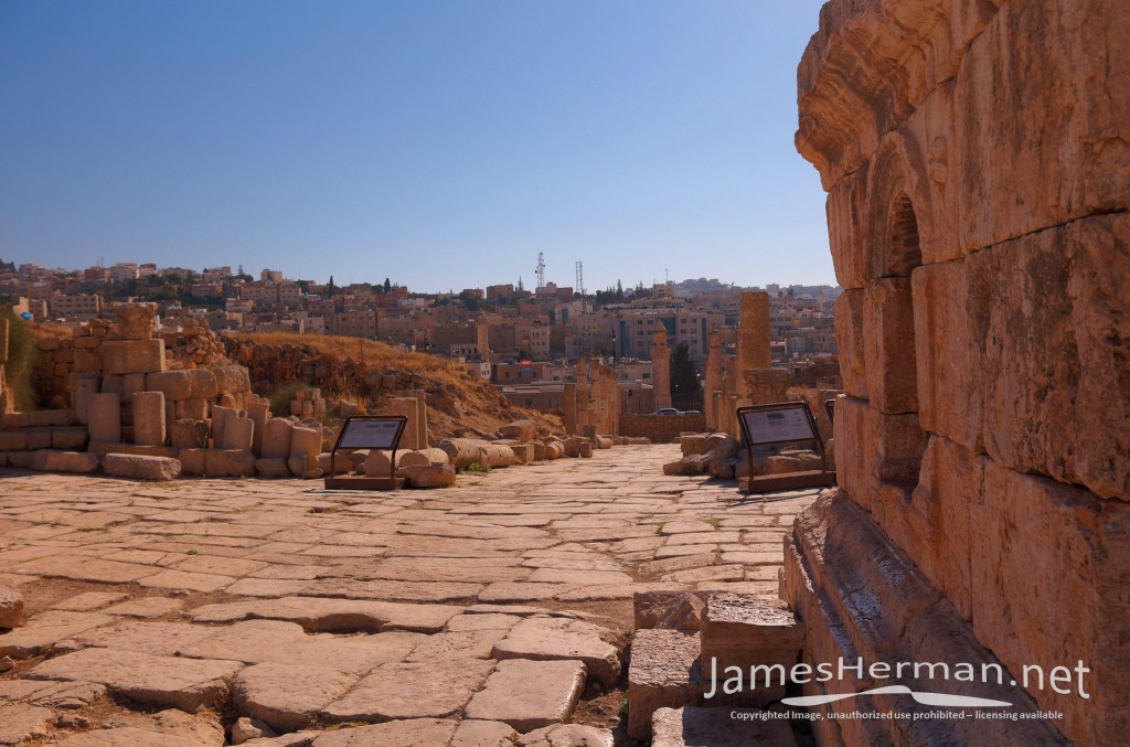 Jerash Jordan 2013