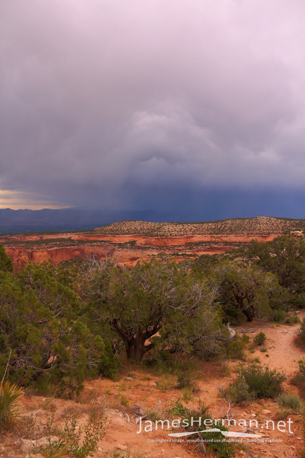 Colorado National Monument Sunset 2014