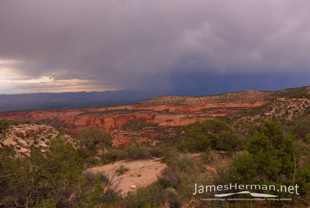 Colorado National Monument Sunset 2014
